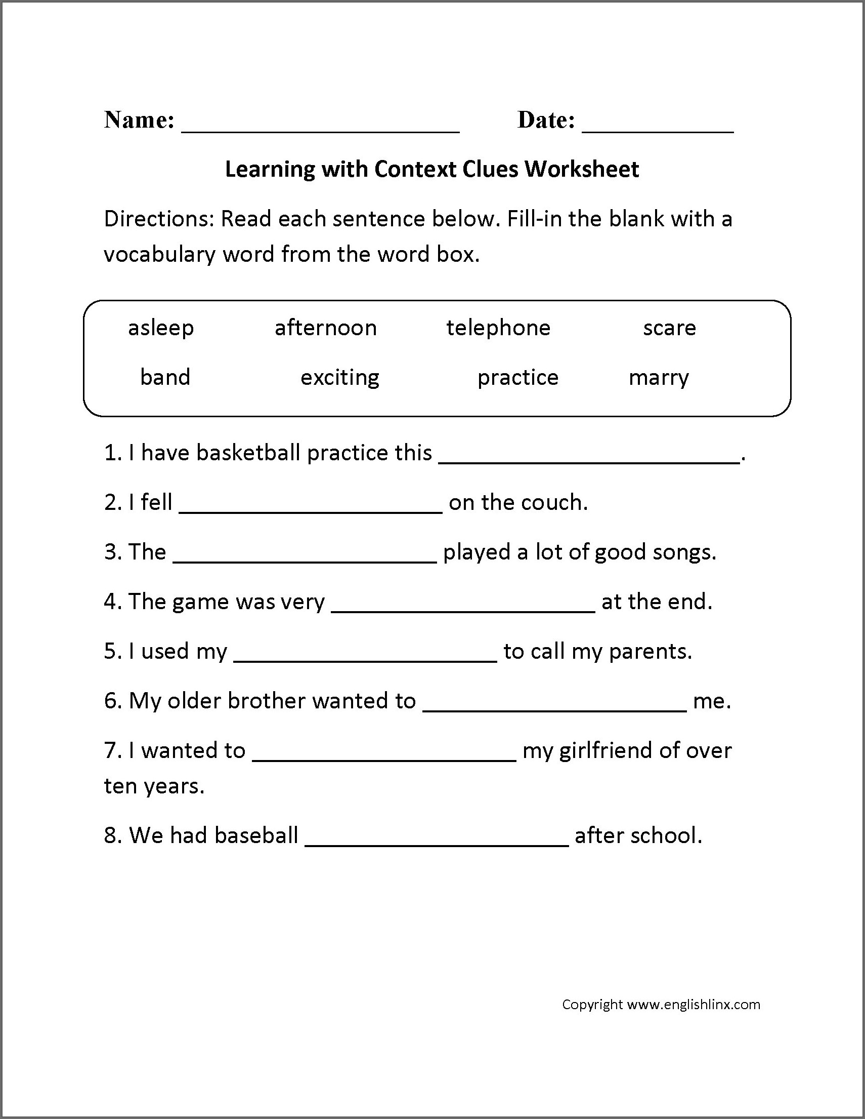 2nd Grade Continents And Oceans Worksheet
