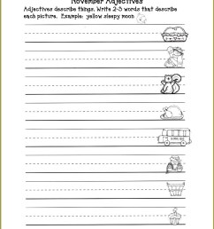 Descriptive Adjectives Worksheet 3rd Grade   Printable Worksheets and  Activities for Teachers [ 1610 x 1246 Pixel ]