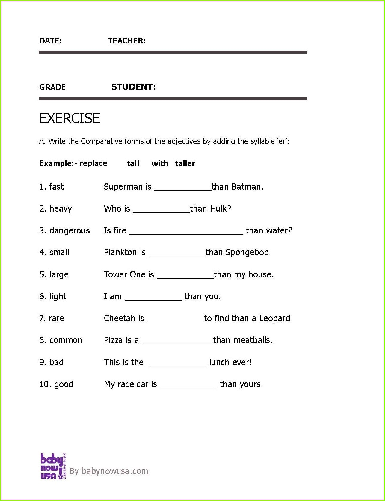 hight resolution of Descriptive Adjectives Worksheet 3rd Grade   Printable Worksheets and  Activities for Teachers