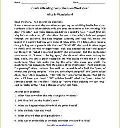 Reading Comp Worksheets 6th Grade   Printable Worksheets and Activities for  Teachers [ 1335 x 1034 Pixel ]