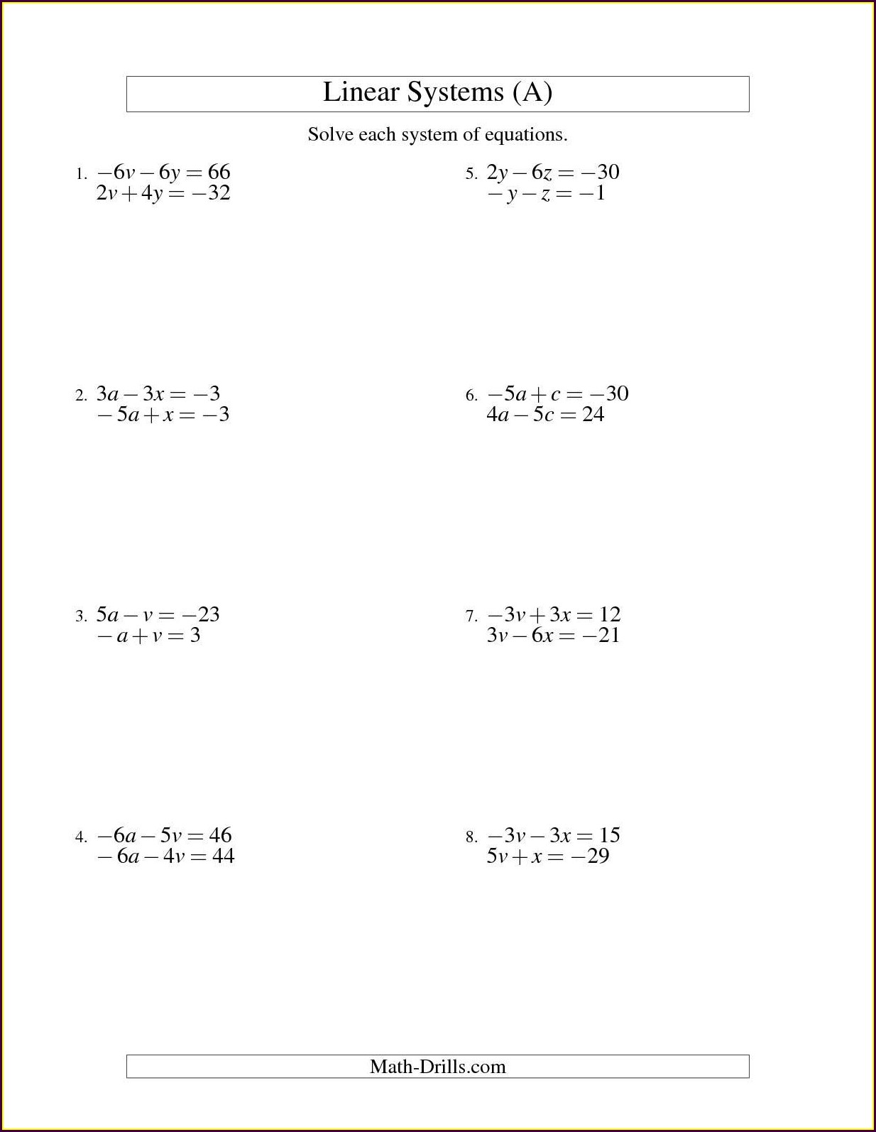 4th Grade Two Step Word Problems Worksheet