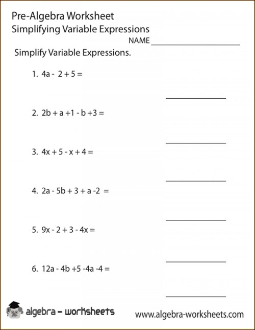 small resolution of 8th Grade Algebra 1 Worksheets   Printable Worksheets and Activities for  Teachers