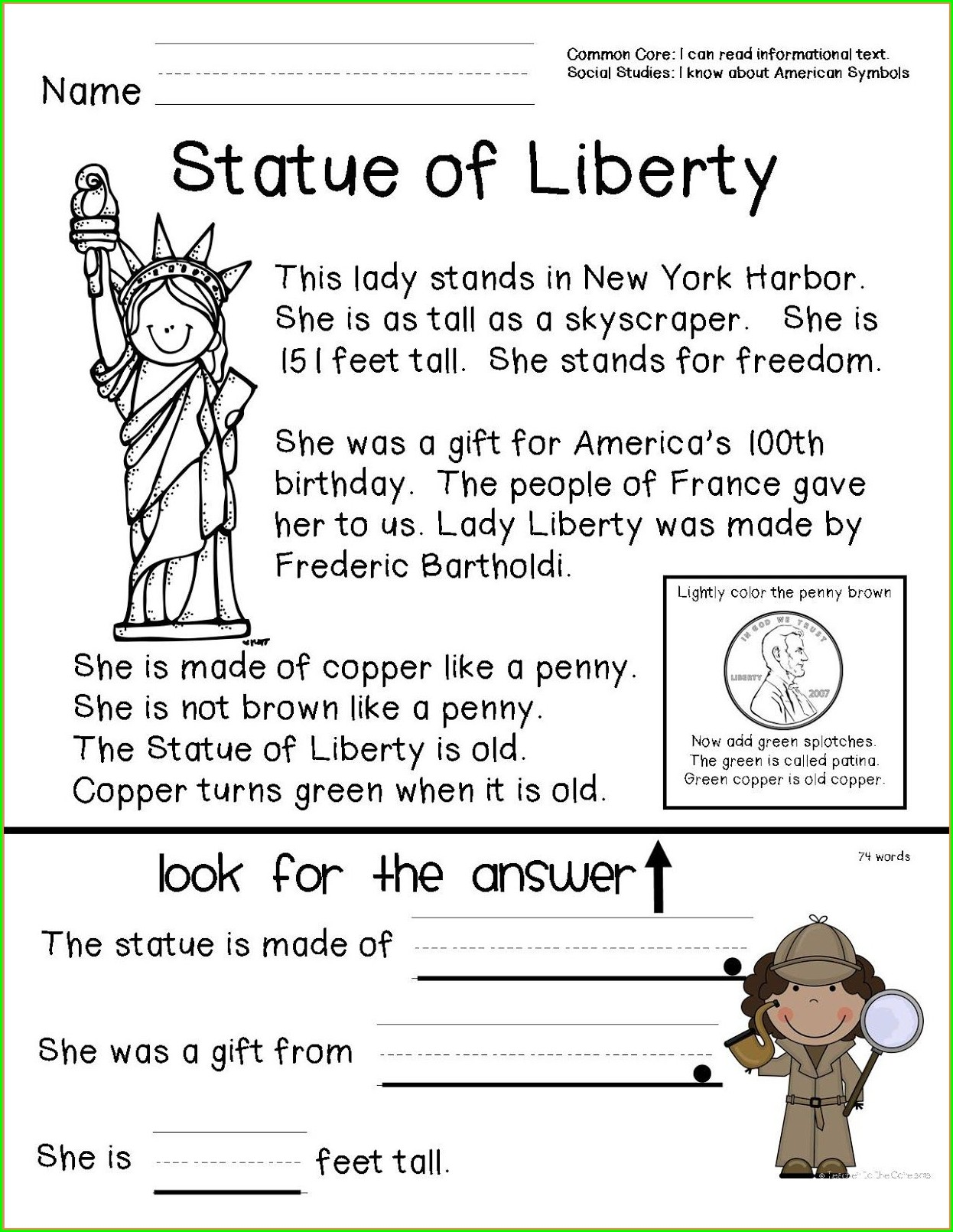 hight resolution of Black History Month 1st Grade Worksheets   Printable Worksheets and  Activities for Teachers