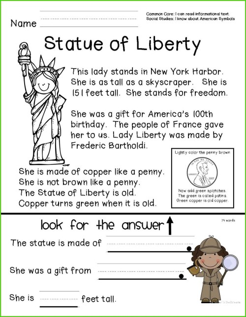 small resolution of Black History Month 1st Grade Worksheets   Printable Worksheets and  Activities for Teachers