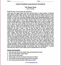 6th Grade Reading Worksheets E Reading   Printable Worksheets and  Activities for Teachers [ 2210 x 1710 Pixel ]