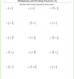 Mixed Fractions Reducing Fractions Worksheets 6th Grade   Printable  Worksheets and Activities for Teachers [ 2495 x 1930 Pixel ]