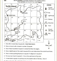 American 3rd Grade Geography Worksheet   Printable Worksheets and  Activities for Teachers [ 2169 x 1584 Pixel ]