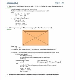 Worksheet On Quadrilaterals For Class 9   Printable Worksheets and  Activities for Teachers [ 2210 x 1710 Pixel ]