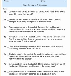 Decimal Operations Word Problems Worksheet   Printable Worksheets and  Activities for Teachers [ 1289 x 1034 Pixel ]