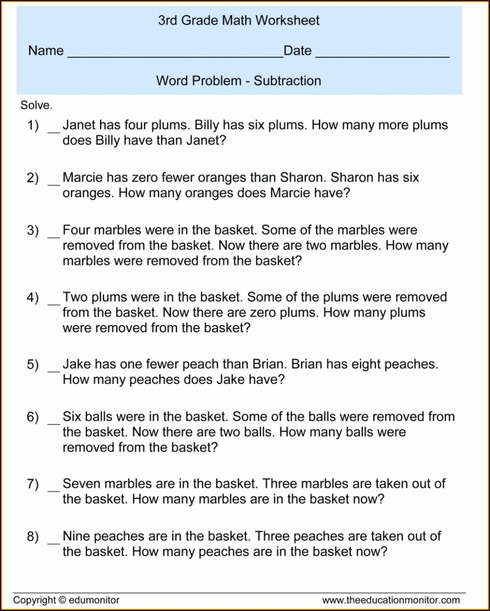 medium resolution of Decimal Operations Word Problems Worksheet   Printable Worksheets and  Activities for Teachers