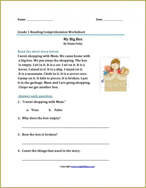 small resolution of Printable First Grade Handwriting Worksheet   Printable Worksheets and  Activities for Teachers