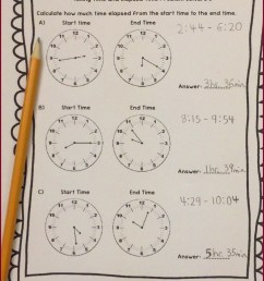 Telling Time Worksheets For Third Grade   Printable Worksheets and  Activities for Teachers [ 1930 x 1090 Pixel ]