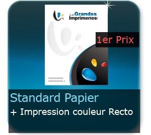 Affiches Affiche papier publicitaire - Impression couleur recto quadri