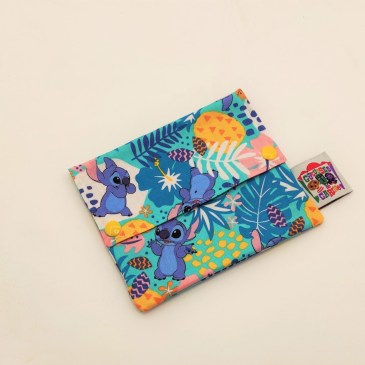 Pochette à savon Stitch tropical