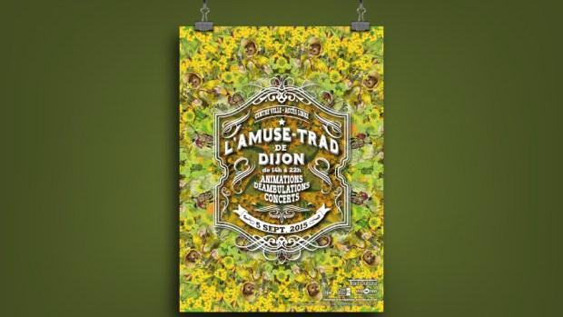 Affiche Amuse-trad Dijon 2015