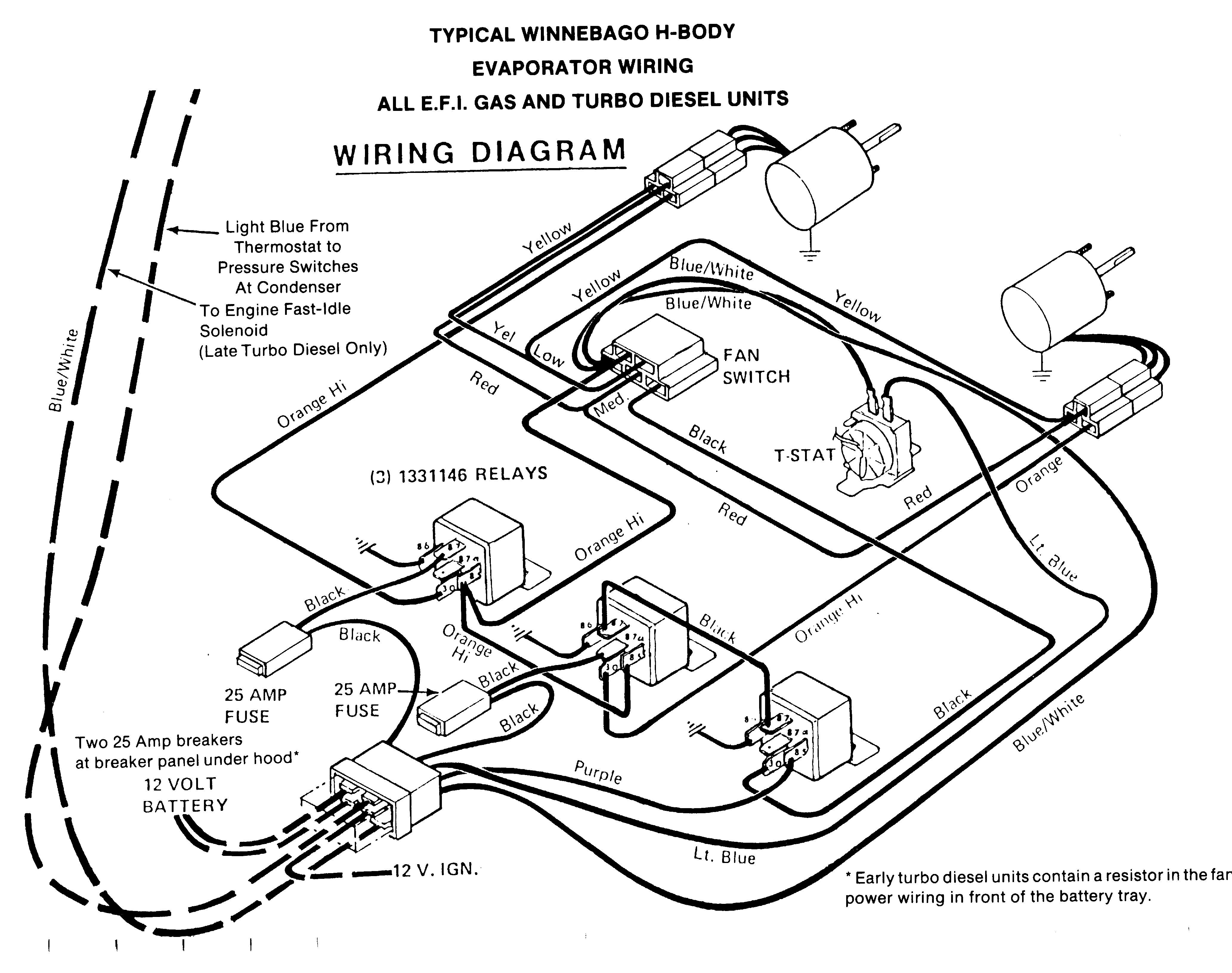 Winnebago Wiring Schematics 1984, Winnebago, Get Free