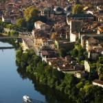 Image de Cahors vue du ciel