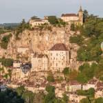 Rocamadour et ses mongolfieres