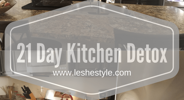 21 Day Kitchen Detox| Minimalist Kitchen
