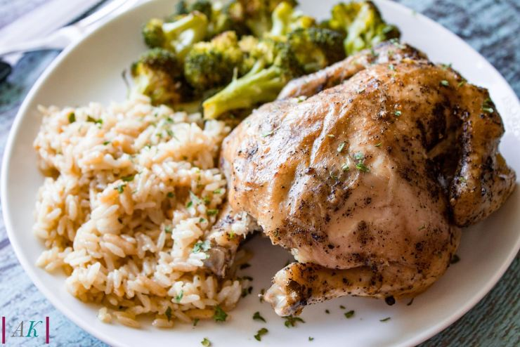 Slow Cooker Roasted Game Hen