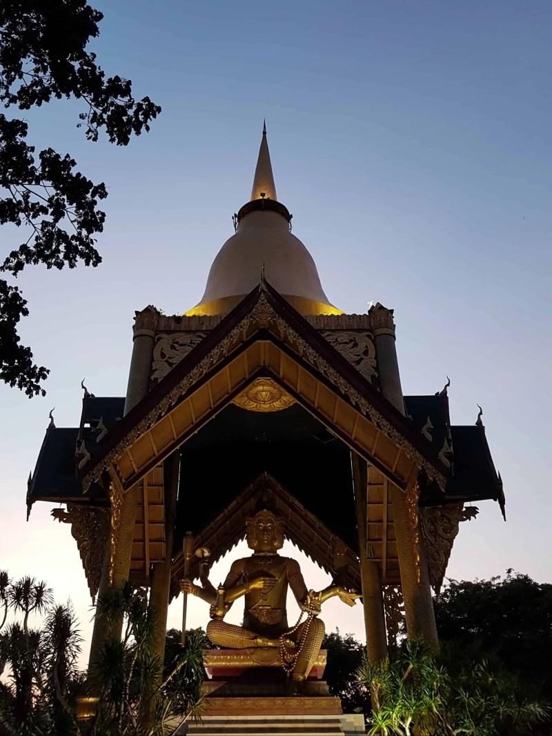 Four Faces Bouddha, Surabaya, Indonésie