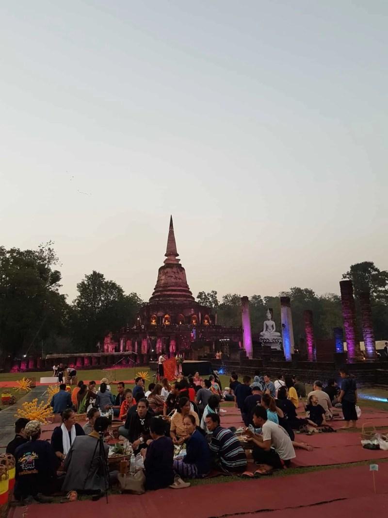 Thaïlande, festival de Si Satchanalaï🎆 8