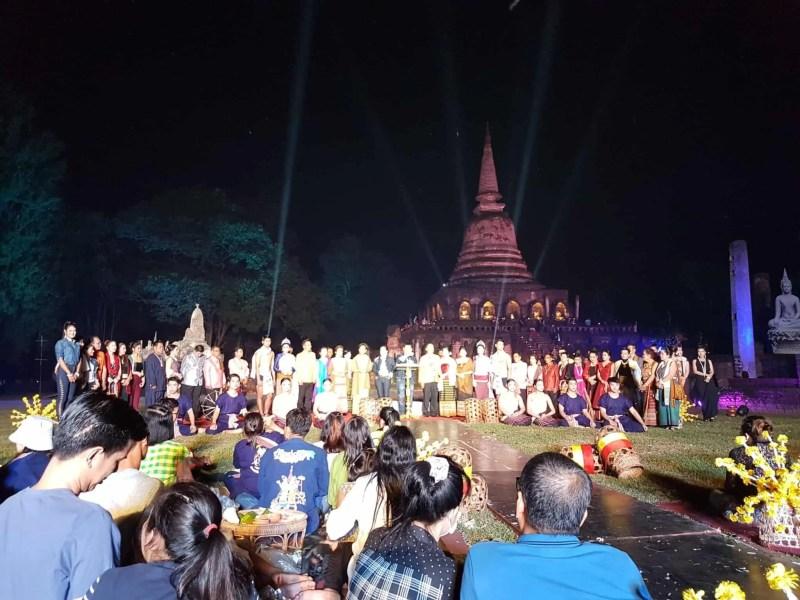 Thaïlande, festival de Si Satchanalaï🎆 16
