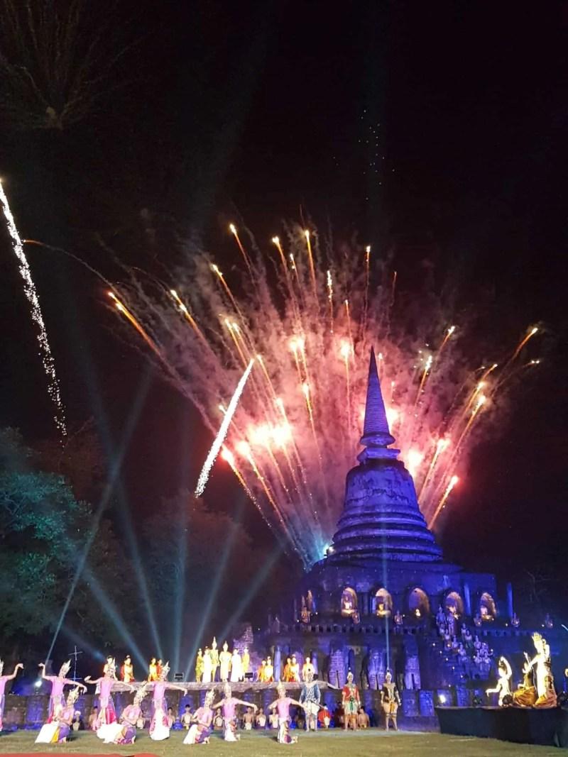 Thaïlande, festival de Si Satchanalaï🎆 20