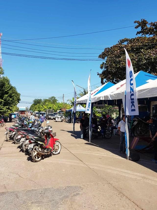 Thaïlande, quand tu deviens la star d'un évènement Suzuki ⭐ 8