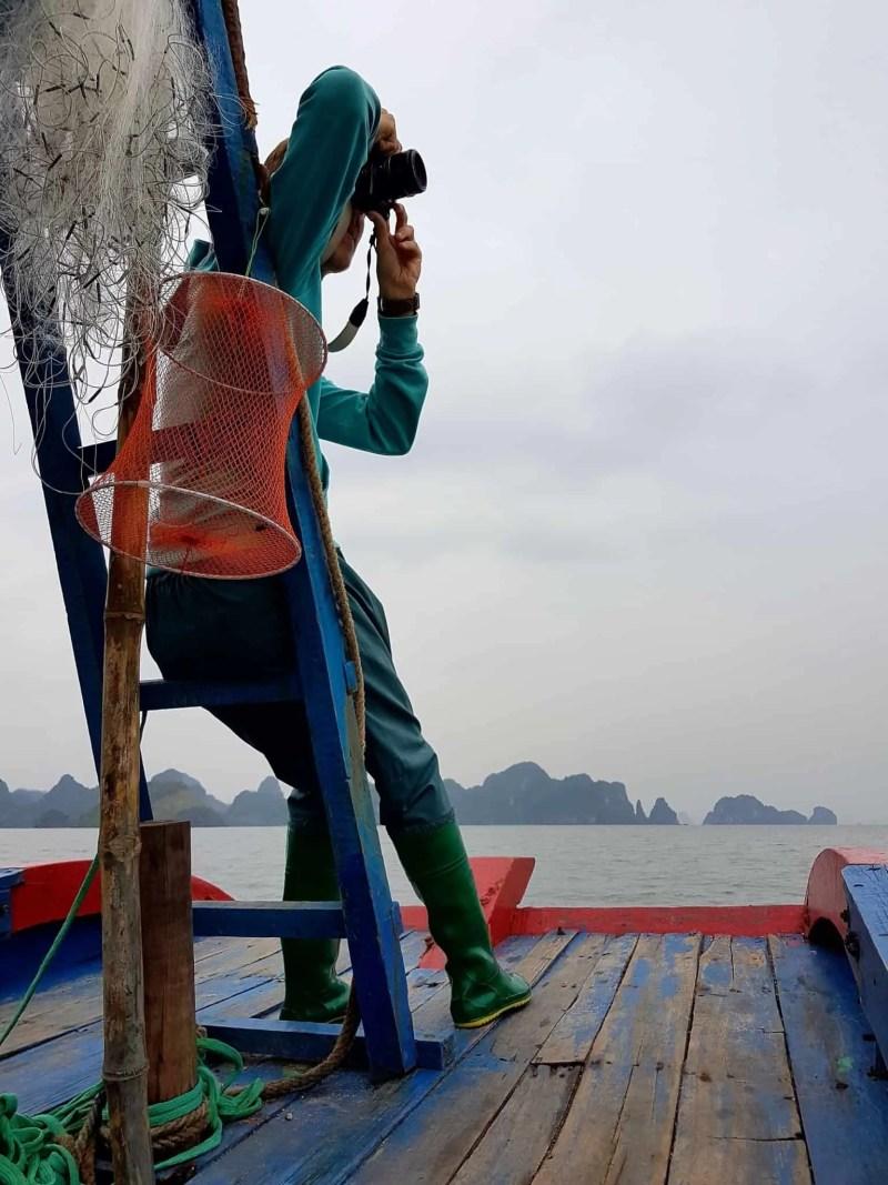 Vietnam, tour en bateau privé dans la baie d'Halong ⛵ 7