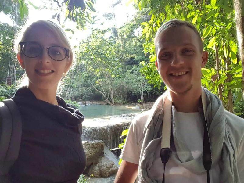 Laos, Kuang Si Waterfall une cascade à couper le souffle 👙 12