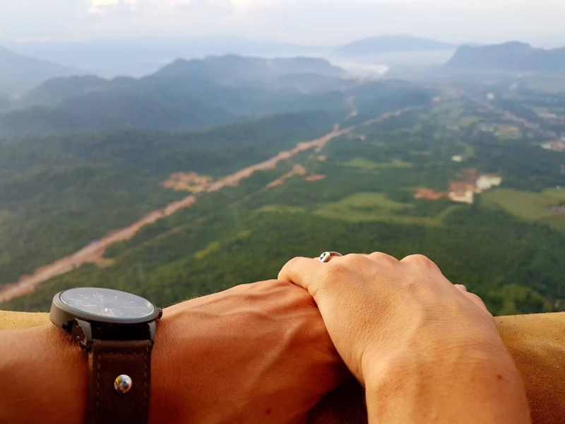 Laos, un vol en montgolfière au dessus de Vang Vieng riche en émotions 🎈 8
