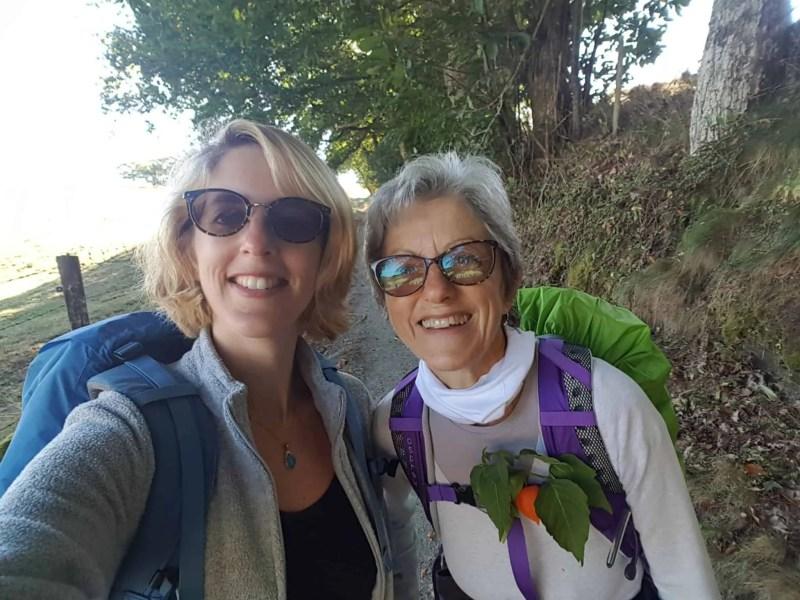 Chemin de Compostelle, arrivées à Massip nous avons droit à notre petit bonheur du quotidien 🎁 13