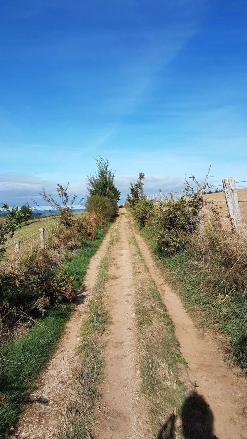 Chemin de Compostelle, nous arrivons à Conques après 204 km parcourus 😁 5
