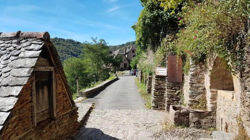 Chemin de Compostelle, nous arrivons à Conques après 204 km parcourus 😁 18