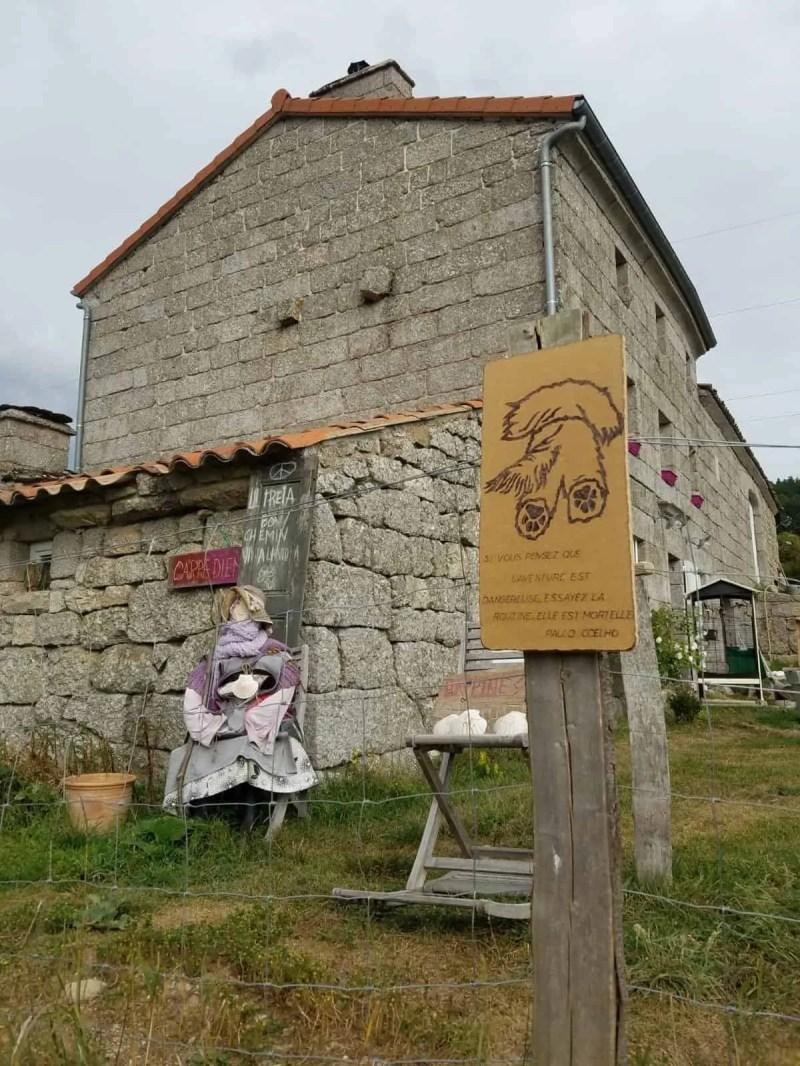 Chemin de Compostelle, arrivée à Chanaleilles avec les jambes lourdes 🦶 14