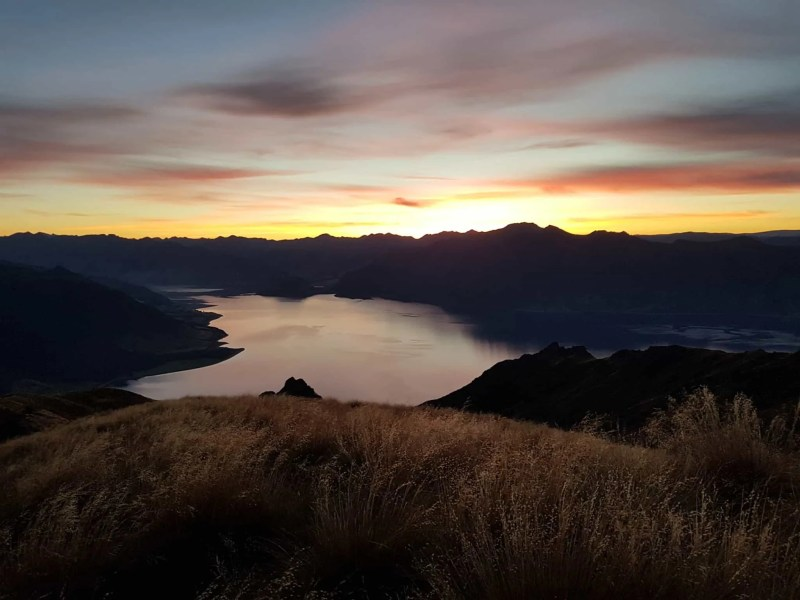 Nouvelle-Zélande, un magnifique lever de soleil depuis Isthmus Peak pour mes 30 ans 🎁 4
