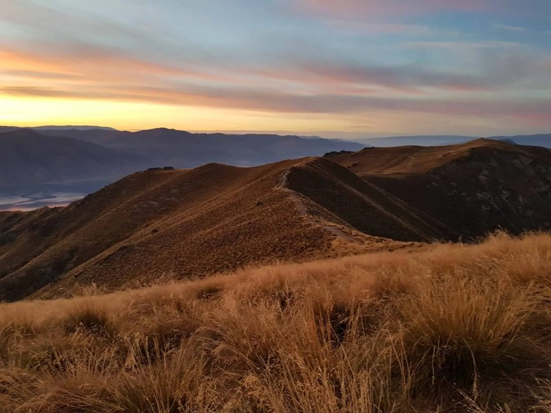 Nouvelle-Zélande, un magnifique lever de soleil depuis Isthmus Peak pour mes 30 ans 🎁 5