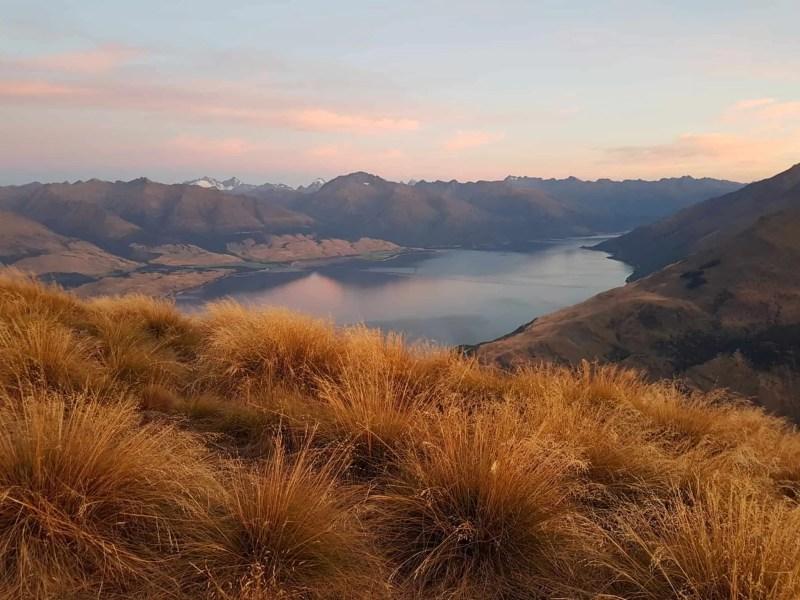 Nouvelle-Zélande, un magnifique lever de soleil depuis Isthmus Peak pour mes 30 ans 🎁 6