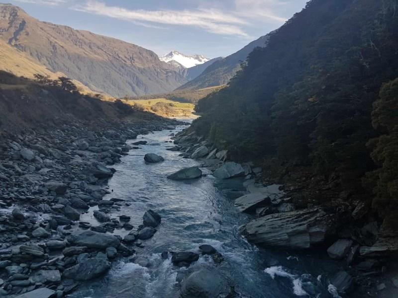 Nouvelle-Zélande, randonnée vers le Rob Roy Glacier et son sommet enneigé ❄ 5
