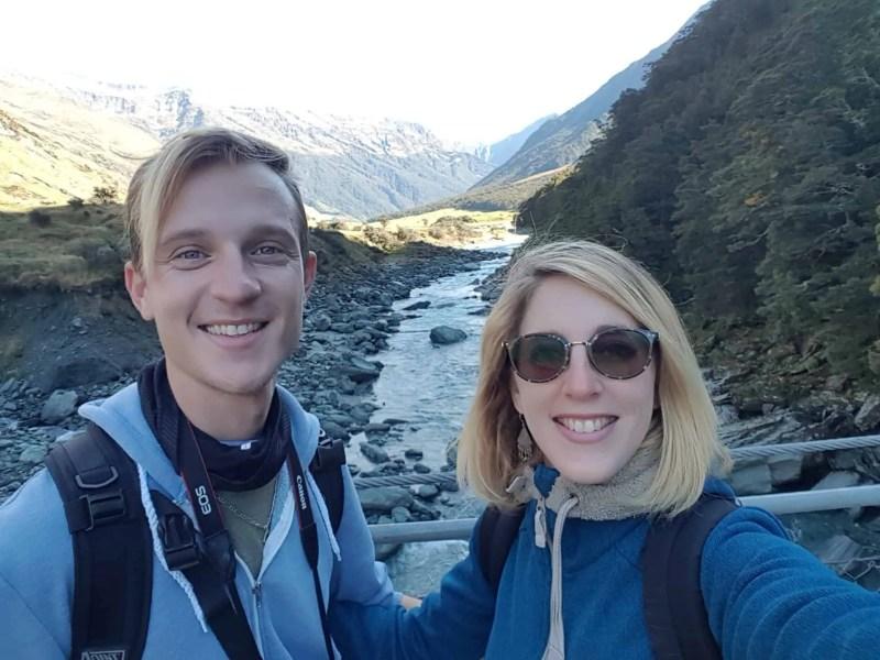 Nouvelle-Zélande, randonnée vers le Rob Roy Glacier et son sommet enneigé ❄ 6