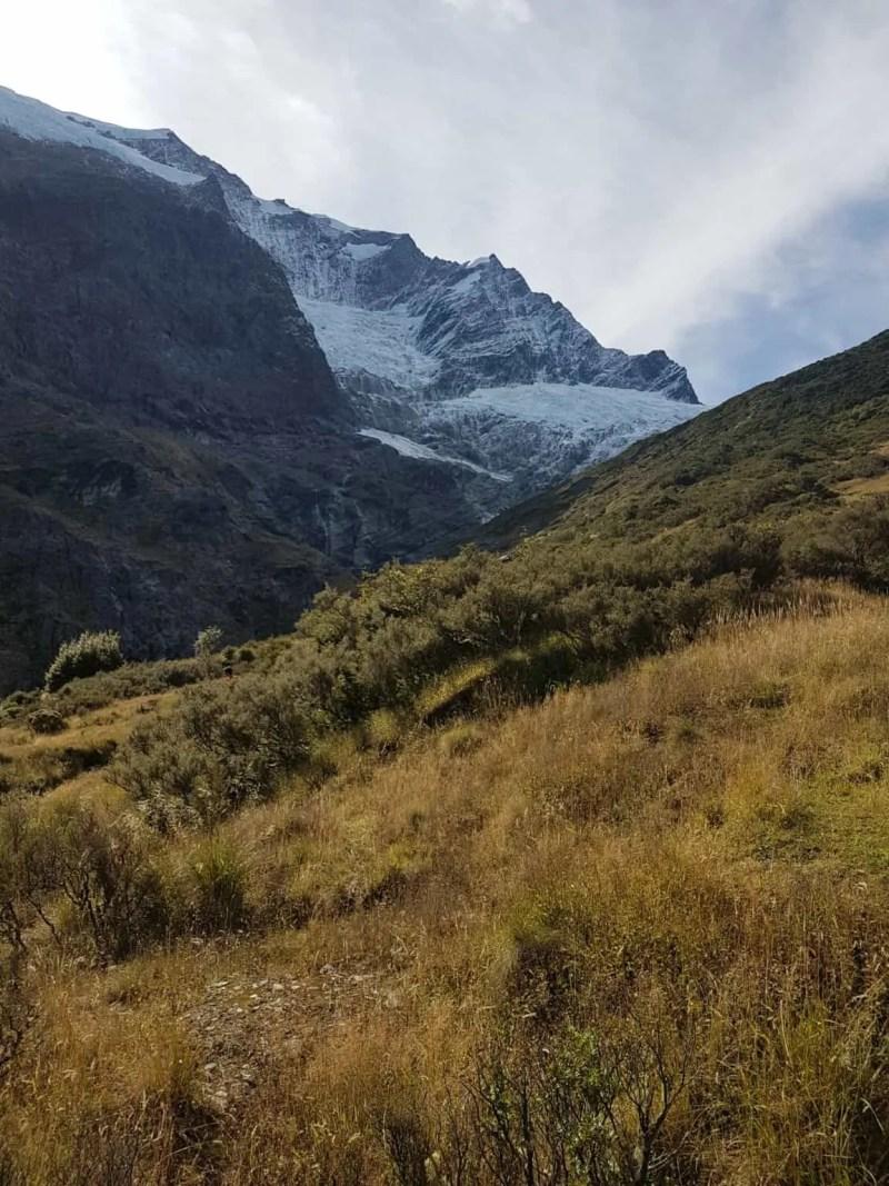 Nouvelle-Zélande, randonnée vers le Rob Roy Glacier et son sommet enneigé ❄ 13
