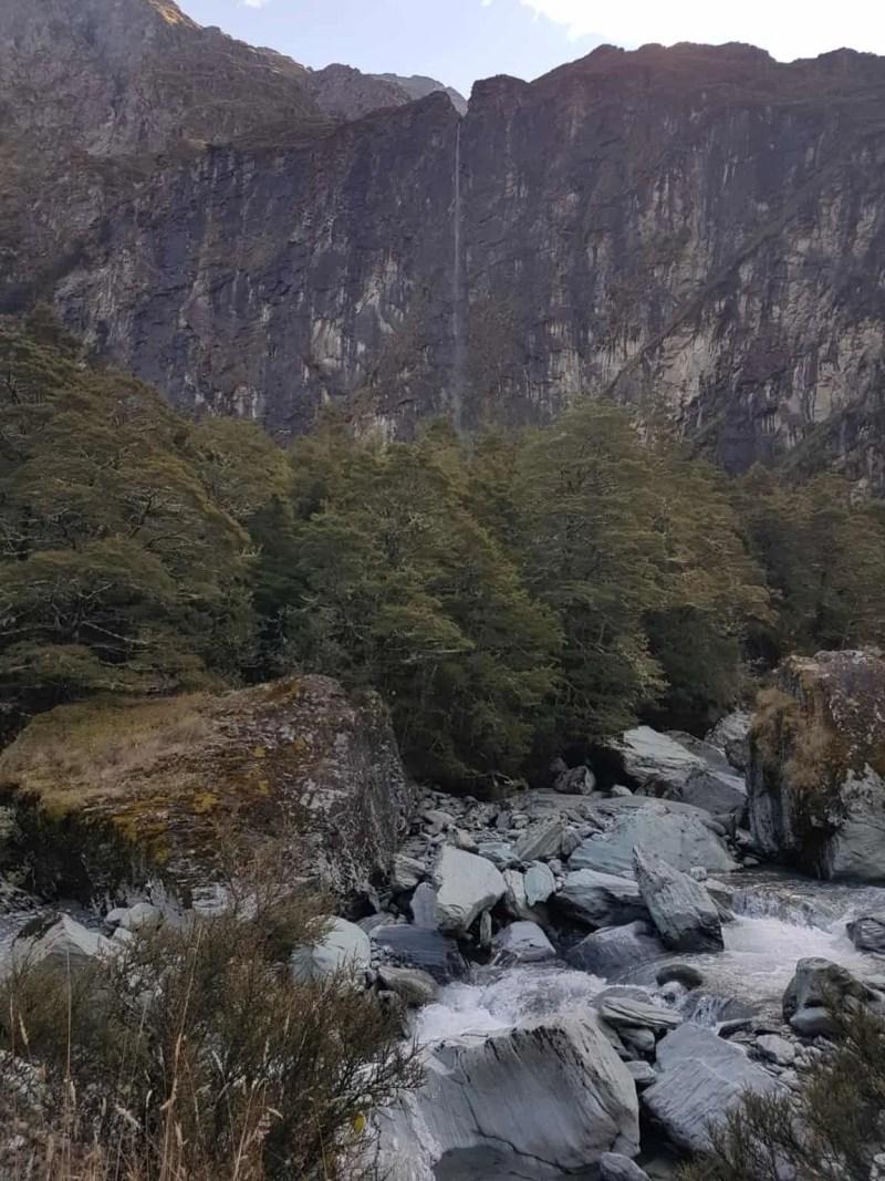 Nouvelle-Zélande, randonnée vers le Rob Roy Glacier et son sommet enneigé ❄ 18