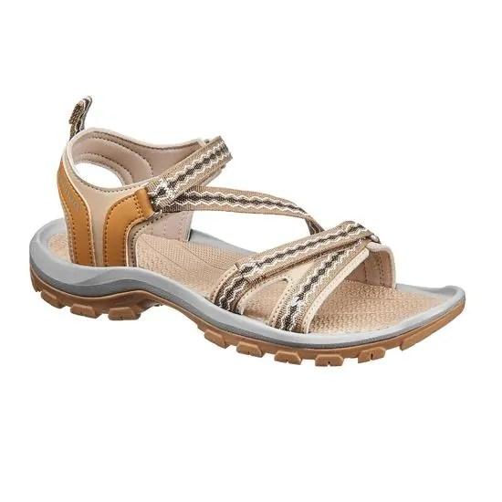 Sandales+de+randonn+e+nature+NH110+beige+femme