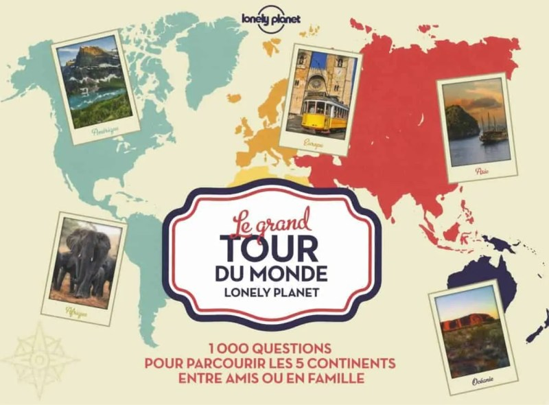 Jeux le grand tour du monde de Lonely Planet