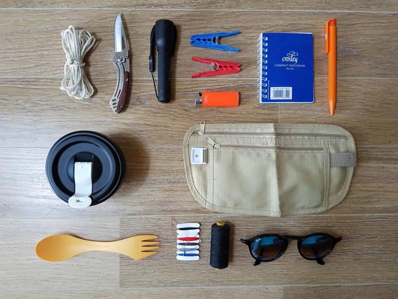 equipement tour du monde - accessoires