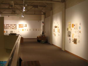 art museum showcasing solo art exhibition funded in part by a NC Regional Artist Grant
