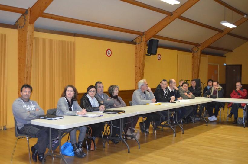 Elus de la CCVOl et professionnels du tourisme assistaient à cette réunion