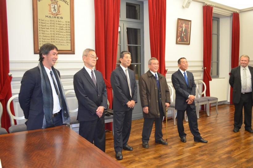 Cinq des quinze experts japonais en karaté étaient à Ploermel ce week-end