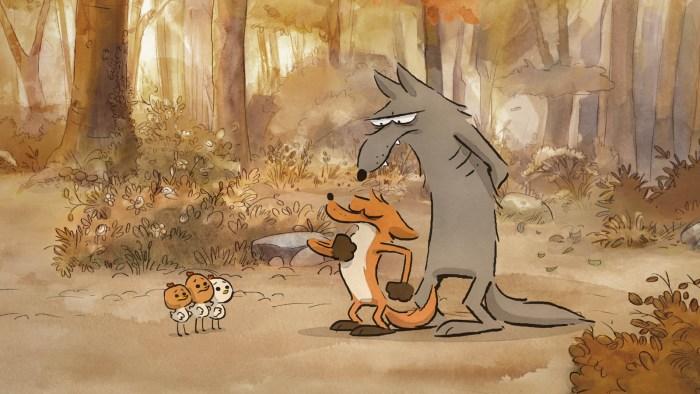 Image du film le grand mechant renard et autres contes